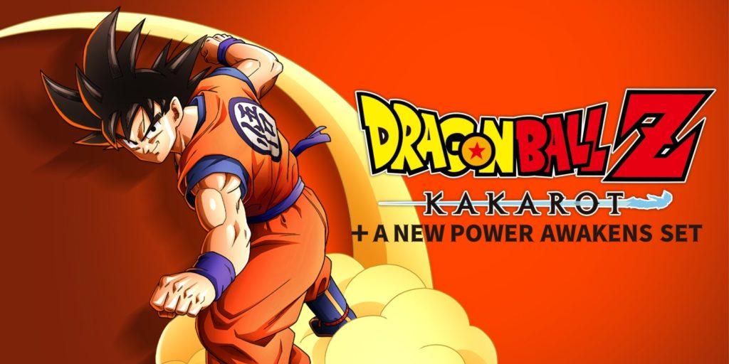 Affiche de lancement de Dragon Ball Z Kakarot + A New Power Awakens SET