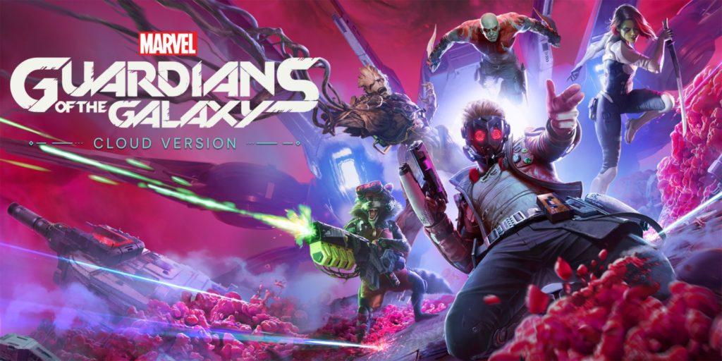 Artwork officiel de Guardians of the Galaxy - Cloud Version - .