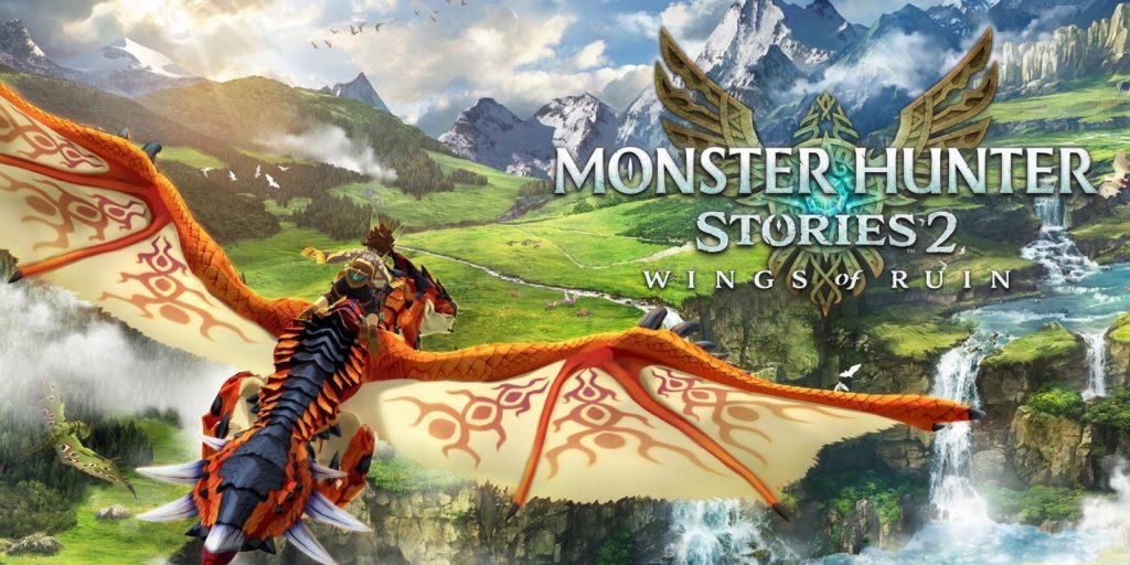 Artwork officiel de Monster Hunter Stories 2: Wings of Ruin.
