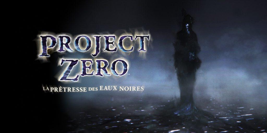 Artwork officiel de Project Zero: La Prêtresse des Eaux Noires.
