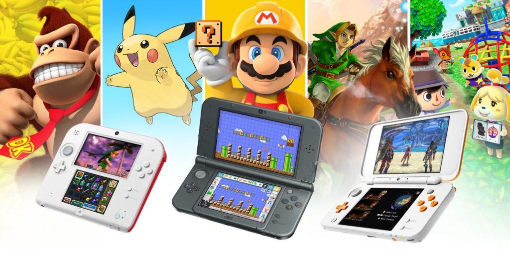 Famille Nintendo 3Ds et ses licences