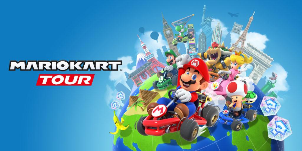 Artwork officiel Mario Kart Tour