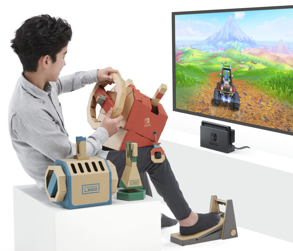 Nintendo Labo Toy-Con 3 : kit véhicule.