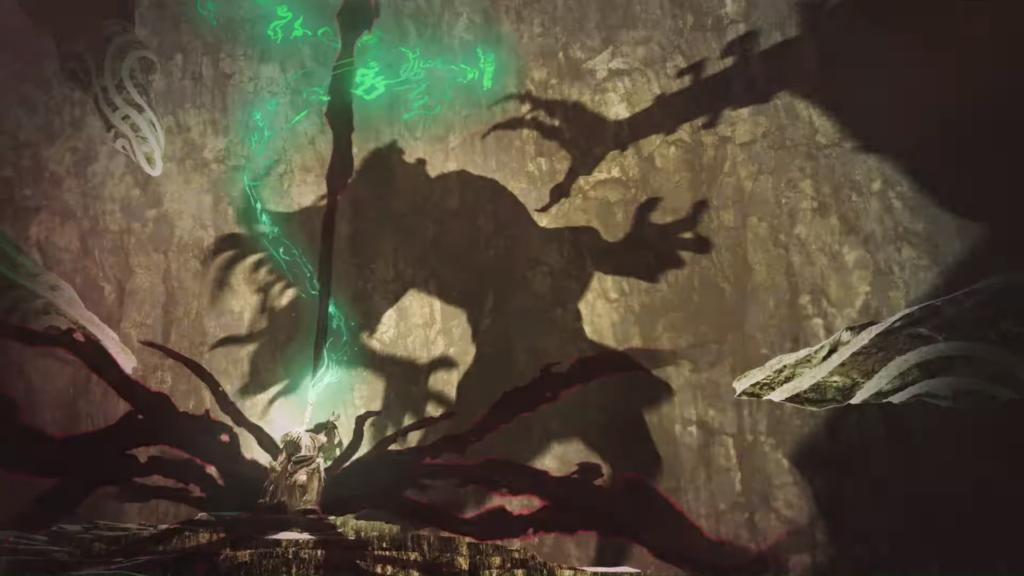 Capture d'écran du trailer de The Legend of Zelda: Breath of the Wild 2.