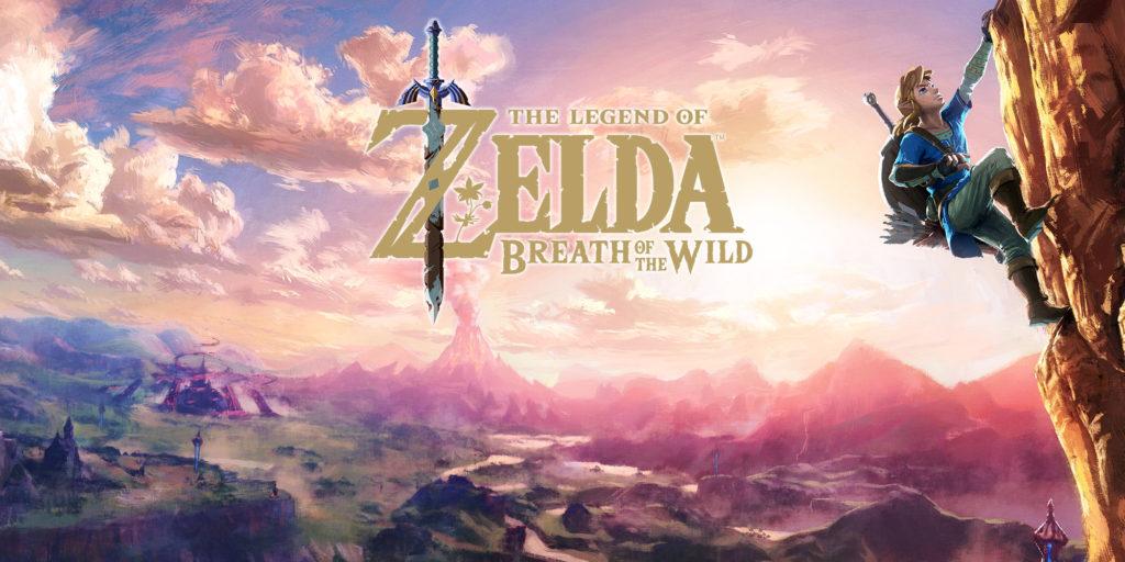 Artwork officiel de The Legend of Zelda: Breath of the Wild.