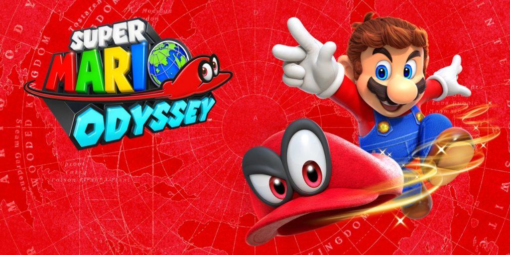 Artwork officiel Super Mario Odyssey
