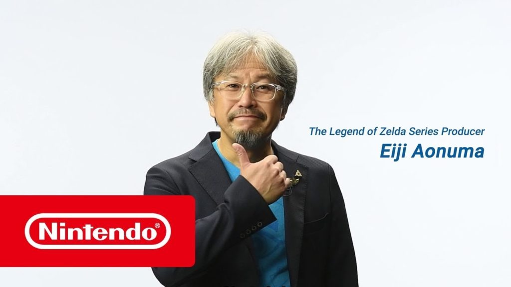 Photo officielle de Eiji Aonuma.