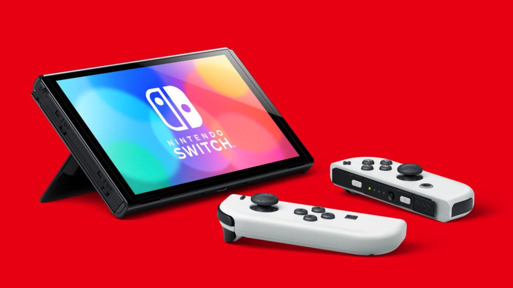 Photo de la Nintendo Switch Modèle OLED - Mode tablette