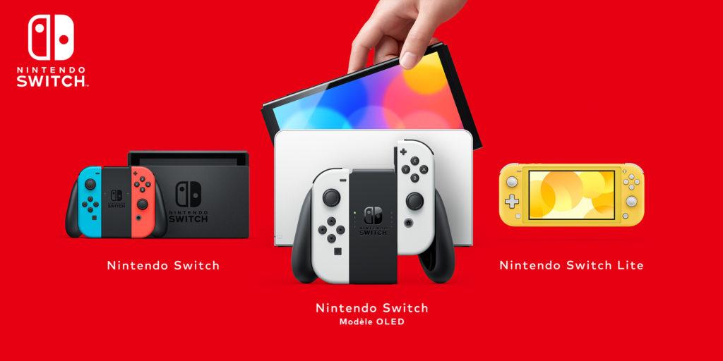 Présentation de la gamme Nintendo Switch