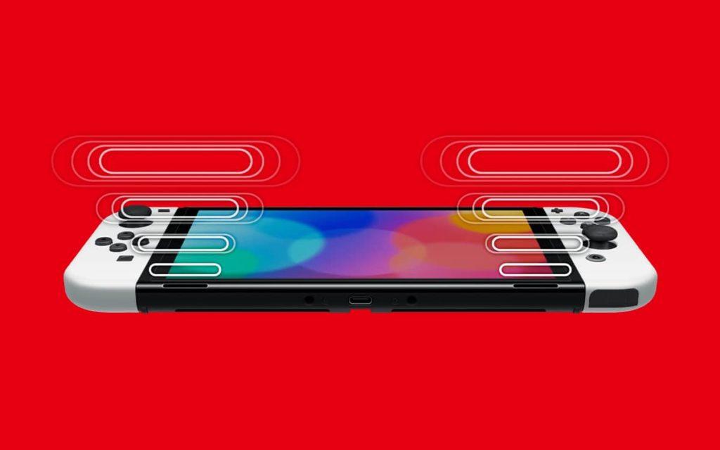 Artwork officiel Nintendo Switch Modèle OLED - Audio